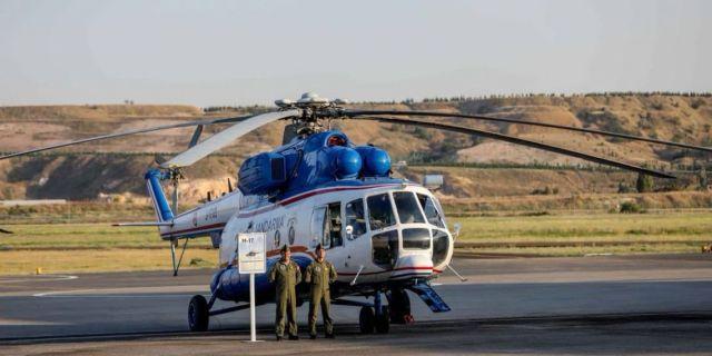 Ми-17 турецкой жандармерии