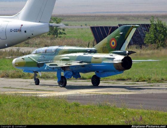 МиГ-21 румынских ВВС