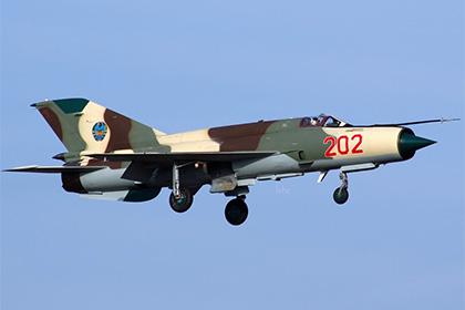 МиГ-21 ВВС Мозамбика