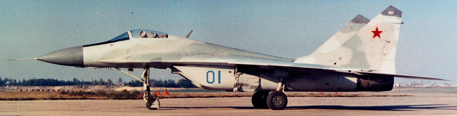 Первый полет прототипа МиГ-29 («9-12»).