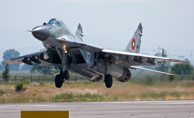 МиГ-29А ВВС Болгарии