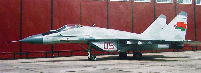 МиГ-29БМ ВВС Беларуси. Источник: www.airwar.ru