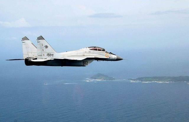 МиГ-29К ВМС Индии. Архивное фото