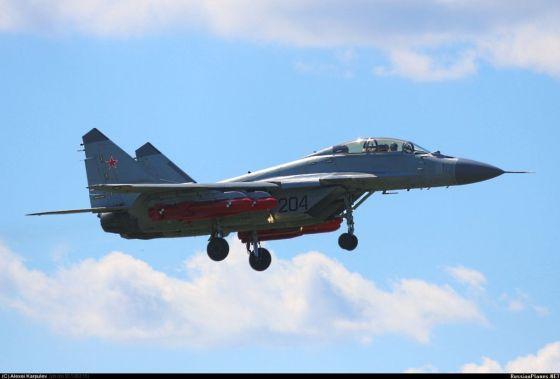 Истребитель МиГ-29КУБ