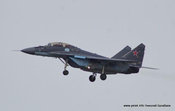 Истребитель МиГ-29КУБР