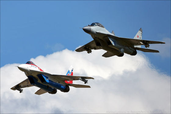 МиГ-29ОВТ и МиГ-29М2