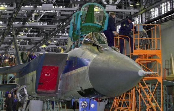 Сборка самолета МИГ-31