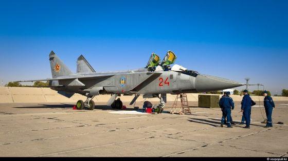 МиГ-31 ВВС Казахстана