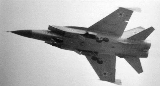 Самолет МиГ-31Д