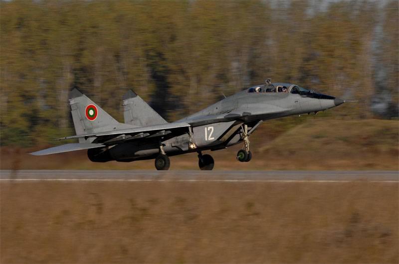 МиГ-29 ВВС Болгарии.