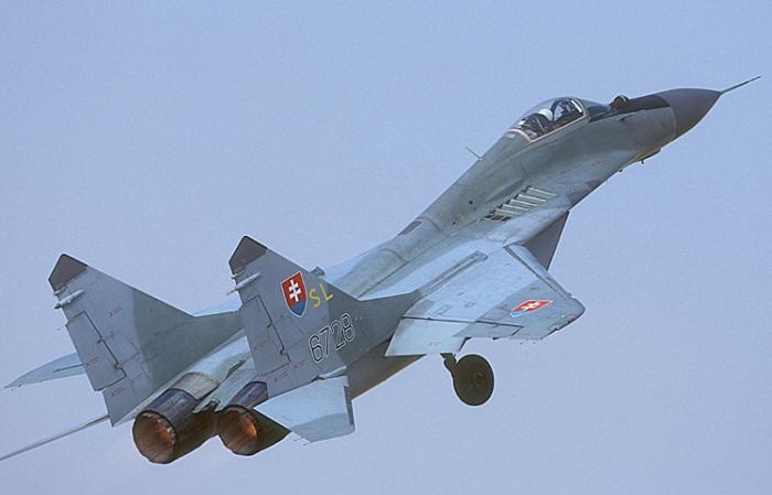 МиГ-29АС ВВС Словакии