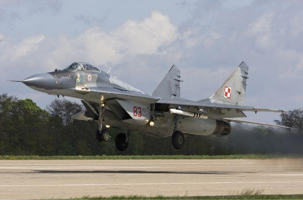 МиГ-29 ВВС Польши.