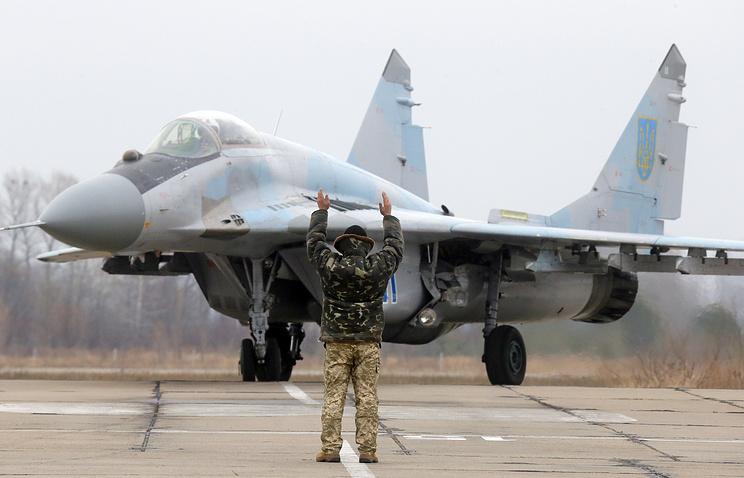 МиГ-29 ВВС Украины.