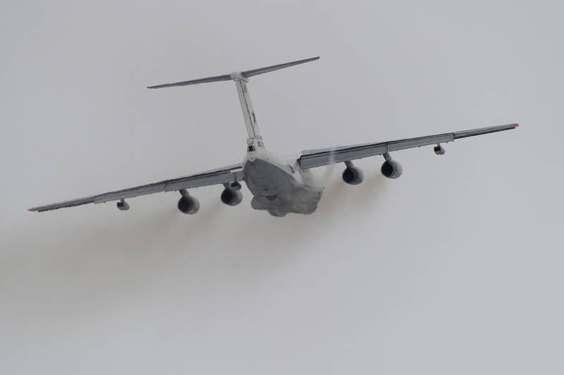 Самолет заправщик Ил-78М.