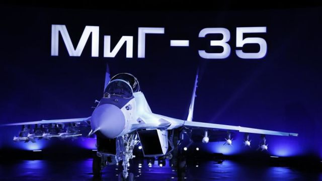 """МиГ-35 — российский перспективный многофункциональный легкий истребитель поколения """"4++"""""""
