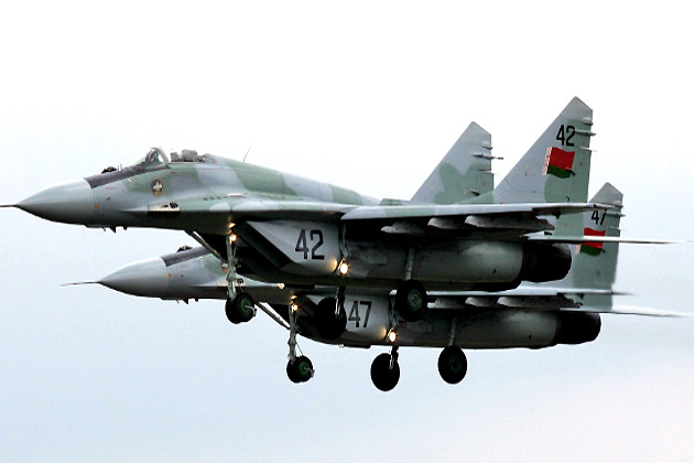 Истребители МиГ-29 ВВС Беларуси
