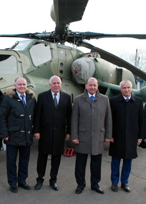 А.Михеев, С.Чемезов, В.Артяков и М.Короткевич