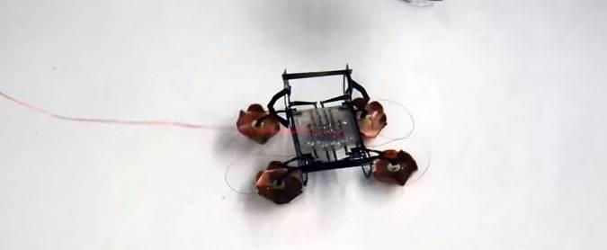 Мини-робот HAMR.