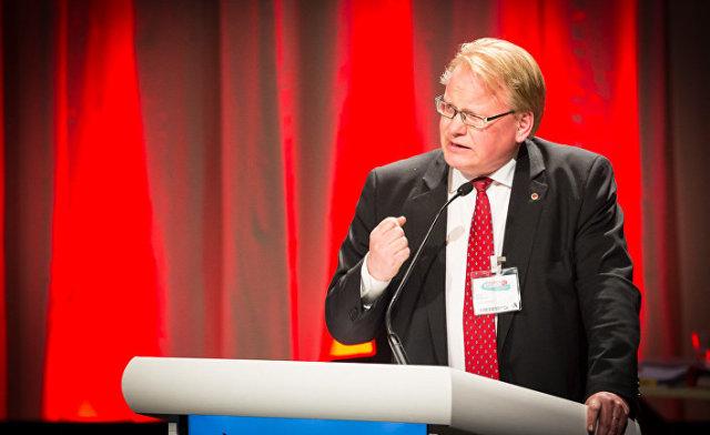 Министр обороны Швеции Петер Хультквист