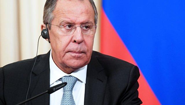 Министр иностранных дел РФ Сергей Лавров. 26 февраля 2018.