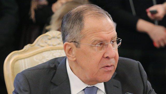 Министр иностранных дел РФ Сергей Лавров. Архивное фото.