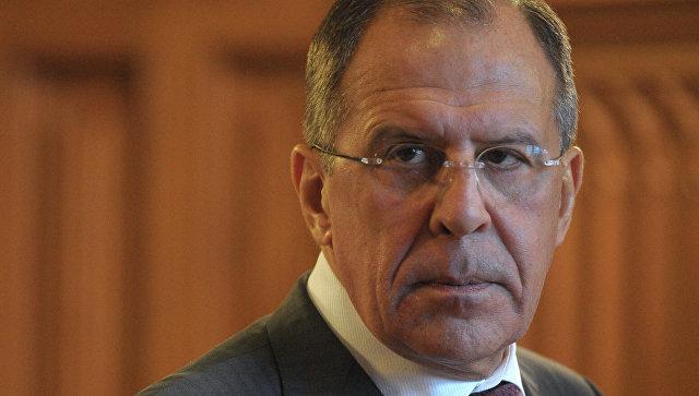 Министр иностранных дел России Сергей Лавров. Архивное фото.