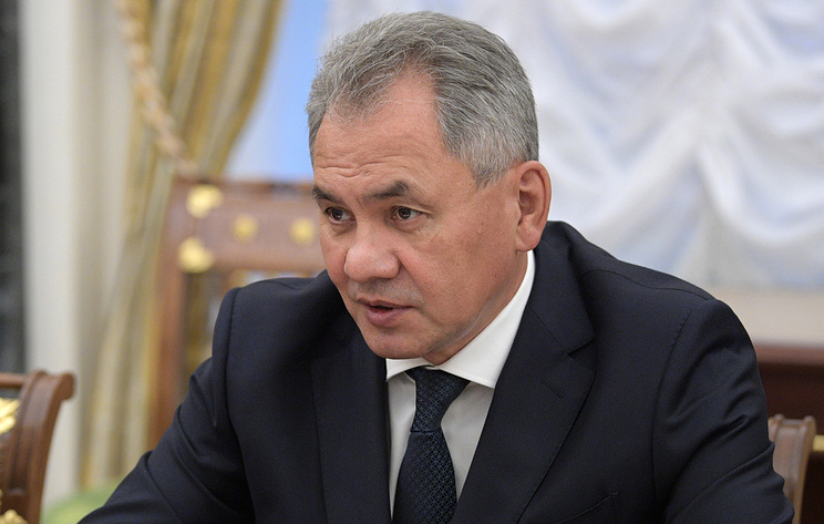 Министр обороны РФ Сергей Шойгу.