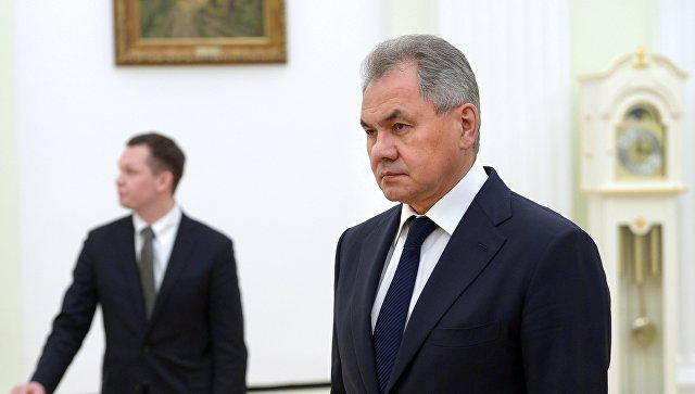 Министр обороны РФ Сергей Шойгу. 15 февраля 2018.