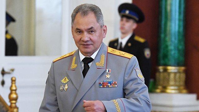 Министр обороны Сергей Шойгу. Архивное фото.