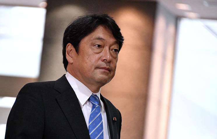 Министр обороны Японии Ицунори Онодэра.