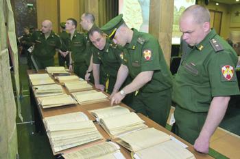 Минобороны переводит документы на электронные носители и создает общие базы данных. Фото с сайта www.mil.ru