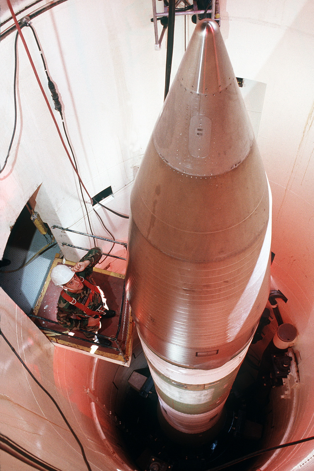 Ракета Minuteman III.