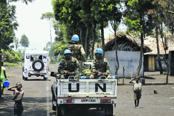 "Миссия ООН в Конго. Фото с сайта <a href=""http://www.unmultimedia.org"">www.unmultimedia.org</a>"