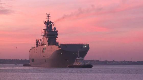 """Корабль-док """"Владивосток"""" типа Mistral"""