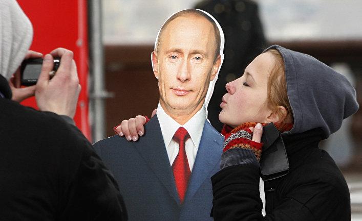 Митинг в поддержку Владимира Путина в Москве.