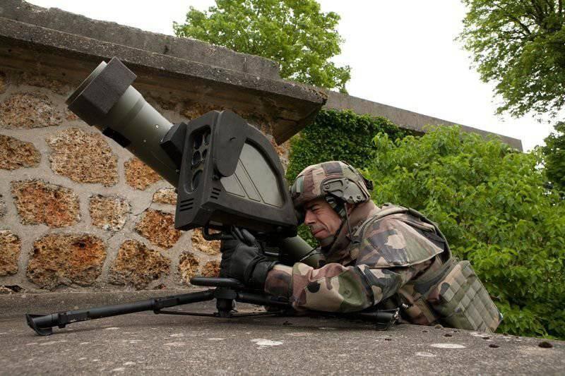 ПТРК пятого поколения Missile Moyenne Portee компании MBDA во французской армии.