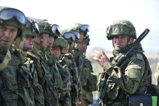 Многие из офицеров морской пехоты Каспийской флотилии прошли горячии точки.