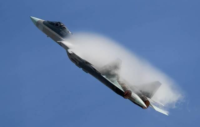 Многоцелевой истребитель Су-57