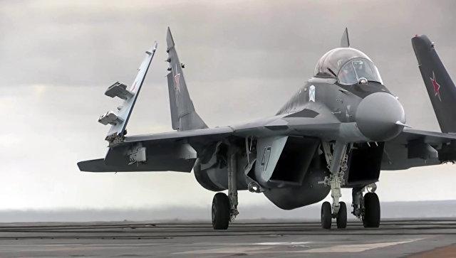 Многоцелевой истребитель МиГ-29 ВКС РФ