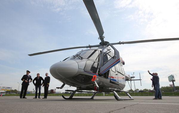 """Многоцелевой вертолет """"Ансат"""""""