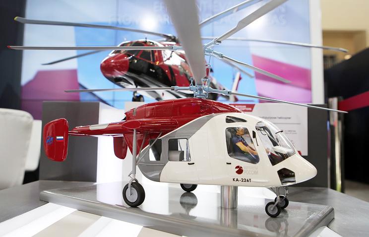 Многоцелевой вертолет Ка-226Т.