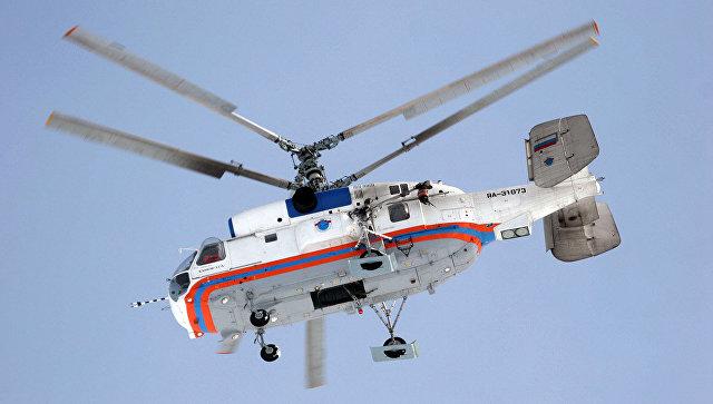 Многоцелевой вертолет Ка-32А11ВС. Архивное фото.