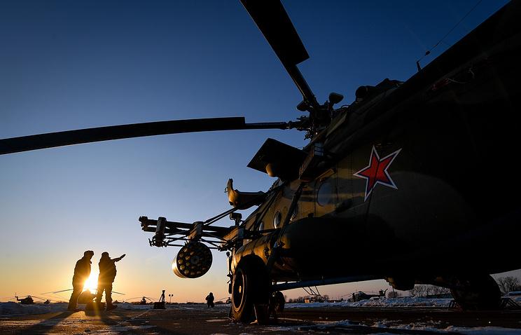 Многоцелевой вертолет Ми-8АМТШ-В.