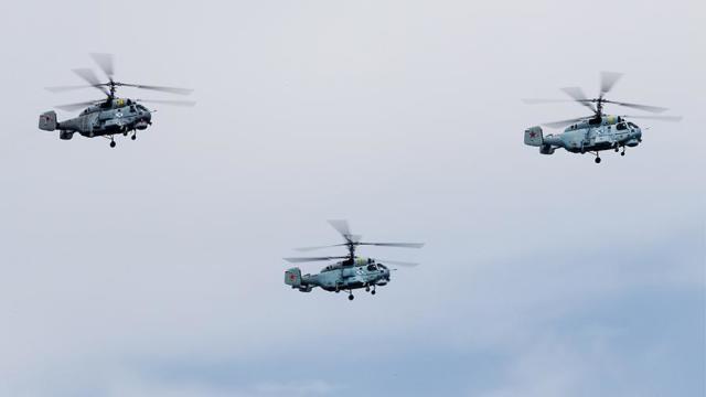 Многоцелевые вертолеты Ка-27М