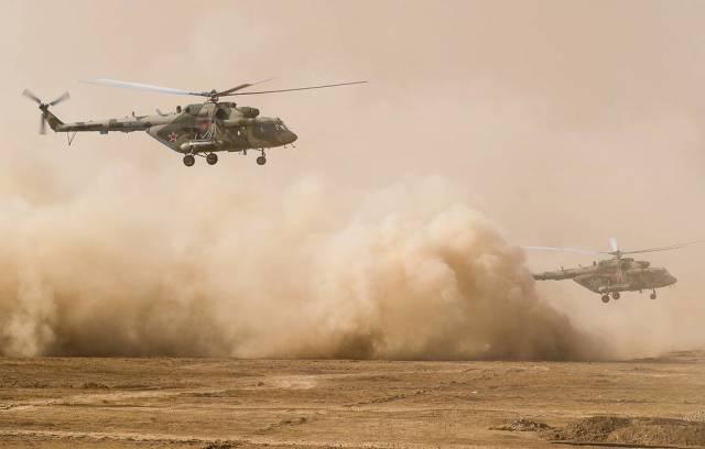 Многоцелевые вертолеты Ми-8АМТШ