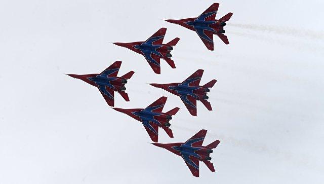 Многоцелевые истребители МиГ-29. Архивное фото.