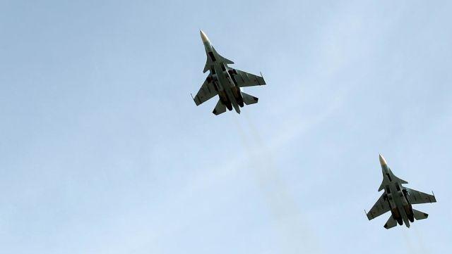 Многоцелевые истребители Су-30