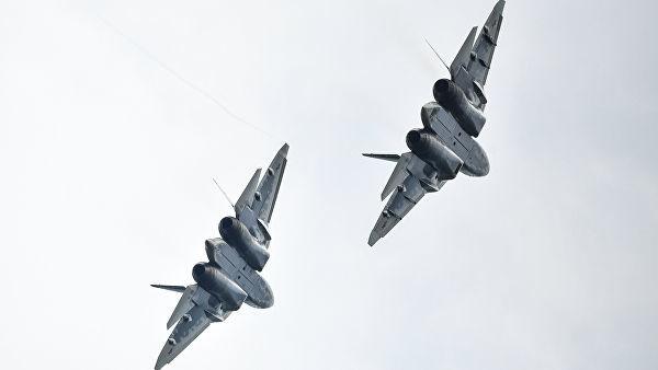 Многофункциональные истребители Су-57