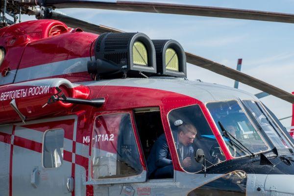 Многоцелевой вертолет Ми-171А2