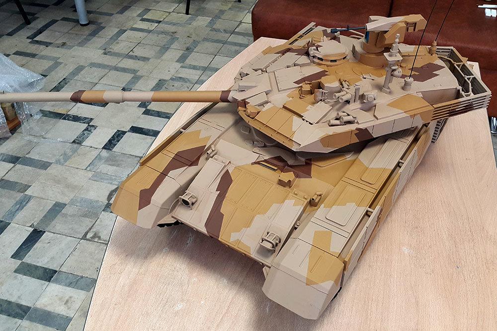 Модель Т-90СМ.